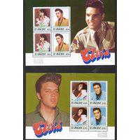 Элвис Пресли Сент-Винсент 1985 год серия из 4 блоков и 8 марок (М)