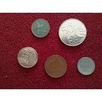 Тринидад и Тобаго набор монет