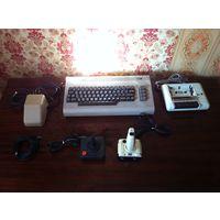Commodore 64 + куча кассет