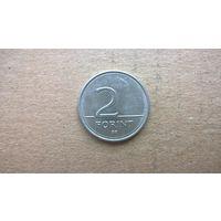 Венгрия 2 форинта, 1997г.  (D-8)