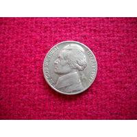 США 5 цент 1977 г.