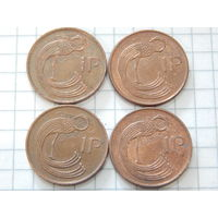 Ирландия 1 пенни (список)