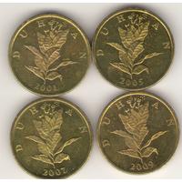10 липа 2001, 2005, 2007, 2009 г.