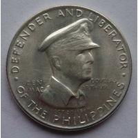 Филиппины 50 сентавос 1947г. Серебро.