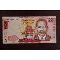Малави 100 квача 2016 UNC