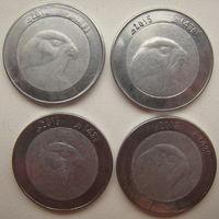 Алжир 10 динаров 2015, 2015, 2016, 2018 гг.  Цена за 1 шт.