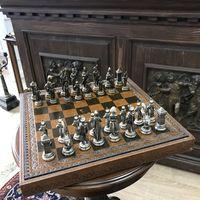 БЕЗ М.Ц!Винажные массивные шахматы. Аукцион 3 дня!