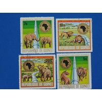 Гвинея 1975г. Фауна