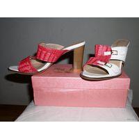 Туфли женские ANONA р.40 (на ногу р.38-39). Новые в упаковке. Высота каблука 7 см