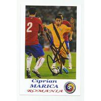 Ciprian Marica(Румыния). Живой автограф на фотографии.