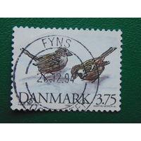 Дания 1994г. Птицы