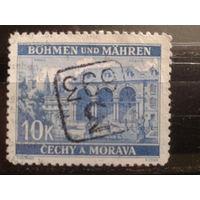 Богемия и Моравия 1940 дворец в Праге