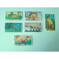 Монголия 1990. Динозавры