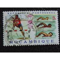 Португальская колония Мозамбик. Спорт. 1972г.