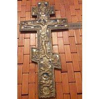 Крест 19 век 2 цвета эмали 35Х18 см состояние отличное без сколов и трещин