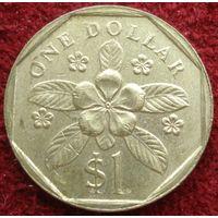 9053:  1 доллар 1988 Сингапур