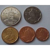 Свазиленд 5 монет UNC