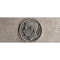 Люксембург 1 франк 1990(Oct)