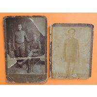"""Фото кабинет-портрет """"Солдаты ПМВ"""", до 1917 г."""