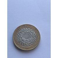 2 фунта, 2010 г., Великобритания