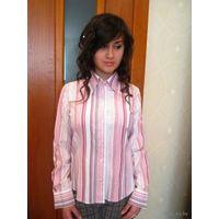 Офисная рубашка известной фирмы р46-48