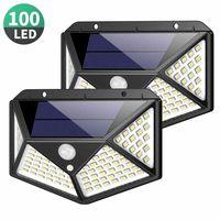 Светильник, Лампа на СОЛНЕЧНОЙ Батарее 100 LED
