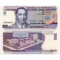 Филиппины. 100 писо (образца 2010 года, P194b, UNC)