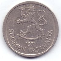Финляндия, 1 марка 1971 года, S.