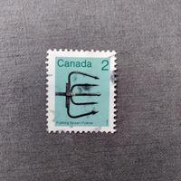 Марка Канада 1982 год. Артефакты