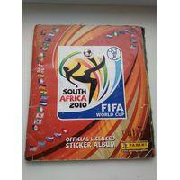 Альбом для наклеек ЧМ по футболу 2010