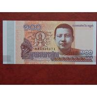 Камбоджа, 100 риелей 2014 год, UNC
