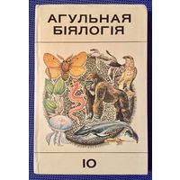 Агульная биялогия 10. На белорусском языке. Общая биология