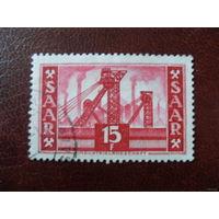Саар 1952 Земли Германии Saar Mi.329