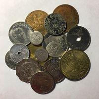 Лот из 15 жетонов. Много интересных! С рубля!!!