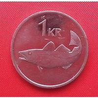 08-02 Исландия, 1 крона 2007 г.