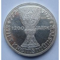 Австрия 100 шиллингов 1977 1200 лет Кремсмюнстерскому аббатству