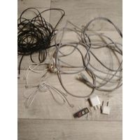 Всячина (4провода с разными разьемами)