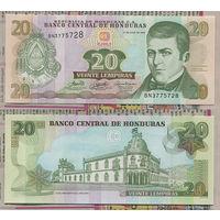 Распродажа коллекции. Гондурас. 20 лемпир 2006 года (P-93a - 2004-2010 Issue)