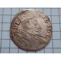 3 гроша 1597 Познань R