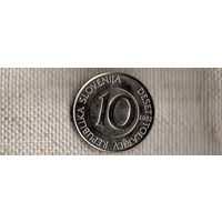 Словения 10 толаров 2002 /фауна/лошадь/ (NS)