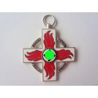 РАСПРОДАЖА!!! Почетный крест пожарного 2-го класса. Оригинал. Арт 195.