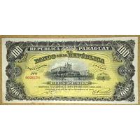 100 песо 1907г -редкая-