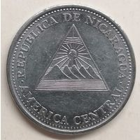 Никарагуа 1 кордоба, 2002 год