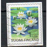 Флора Цветы Финляндия 1996 год серия из 1 б/з марки
