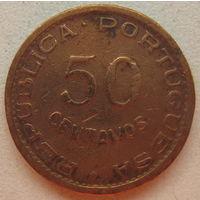 Ангола Португальская 50 сентаво 1953 г. (gl)