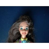 Барби брюнетка, Glitter Hair Barbie, 1993