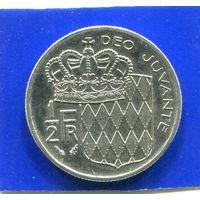 Монако 1/2 франка 1982
