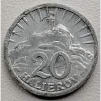 Словакия 20 геллер 1942