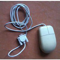 Мышь двухкнопочная 80-е годы