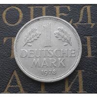 1 марка 1978 (D) Германия ФРГ #01